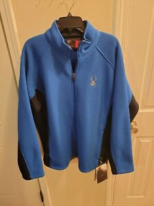 $169 NEW SPYDER Active MID WEIGHT HYBRID CORE SWEATER JACKET MENS 2Xl