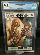 Amazing Spider-Man #4 1st Appearance of Silk CGC 9.8 NM/MT 1st Printing 2014