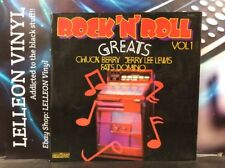 ROCK N ROLL GREATS vol 1 LP ALBUM VINYL RECORD cn2014 Rock & Roll 60's