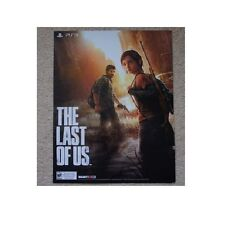 Official PlayStation 3 -The Last of Us- GameStop Promo Poster Double Sided 18x24