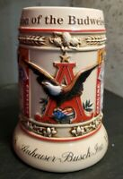 Evolution Of The Budweiser Label 1999 State Convention Beer Stein ~1st In Series
