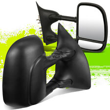 FOR 99-07 FORD F250/350/450 ADJUSTABLE MANUAL EXTENDABLE TOWING TOW SIDE MIRROR