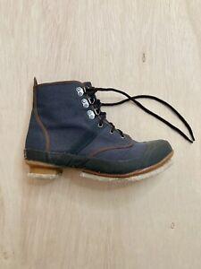 Remington Men's Felt Sole Fly Fishing Wading Boots Size 9 Steel Shank Green