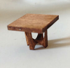 Dollhouse MCM Broyhill Side Table Kit 1:48 Scale
