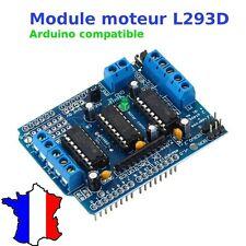 Module L293D H Pont Moteur Motor Drive Board Shield pour carte Arduino