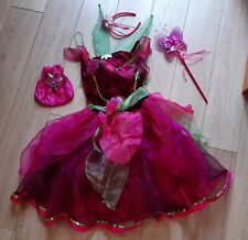 Official Disney Store Tinkerbell  Rosetta fancy dress with accessories 9-10 yrs