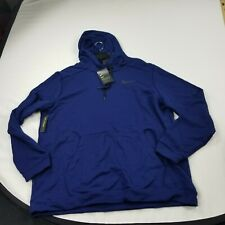 Nike Hoodie Men's 2XL blue Pullover Long Sleeve  standard   1039