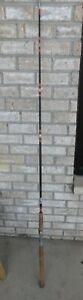"Vintage Shakespeare Wonderglass Rod USA made Thru Glass Handle BWC 191 6' 0"""