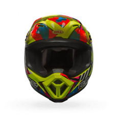 Casque mx-9 mips double trouble jaune taille s Bell 7080818