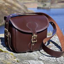 New Leather Cartridge Shooting Bag 100 Shells Hunting Shotgun Clay Bag Shoot