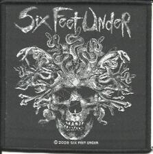 SIX FEET UNDER death rituals 2008 WOVEN SEW ON PATCH - official - no longer made