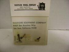 Westside Model Company DH-105 Model Railroad Bushing Repair Kit
