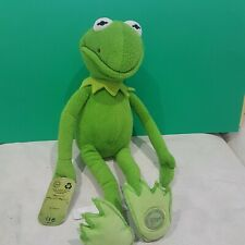Disney Store Kermit The Frog The Muppets Soft Toy Plush Kermit Constantine rare
