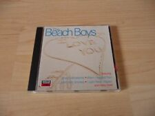 CD The Beach Boys-I Love You - 20 canzoni incl. good vibrations + help me Rhonda