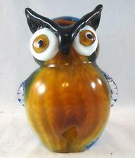 Murano Millefiori Glass Cristalleria Collection D'Arte Ann Primrose OWL