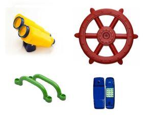 Playground Accessory Kit Ship Wheel Binoculars Telephone Handles Pack Cubbyhouse