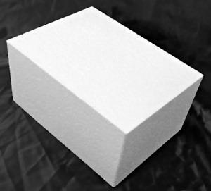 400x300x150mm Carving Foam medium density polystyrene blocks. Start a new Hobby.