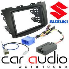 For Suzuki Swift 2010-17 Stereo D/Din Fascia & Steering Wheel Interface CTKSZ02