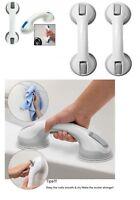 Suction Grab Bar Rails- Bathroom Support Handle Handrail - Portable Support Safe
