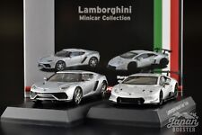 [KYOSHO 1/64] Lamborghini Asterion Huracan Super Trofeo Silver 2 Models