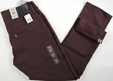 Levi's 511 Slim Fit Commuter Trouser JEANS-brown-34 x32-NEW-levis bike-$88-nwt-