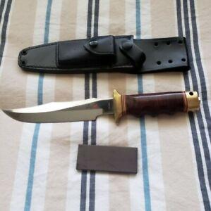 Vintage 1980's Al Mar Seki Japan Fighting Knife SOG Sheath