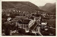 CPA  Laruns (Basses-Pyr) -Usine Hydro-Electrique du Hourat et Route    (171625)