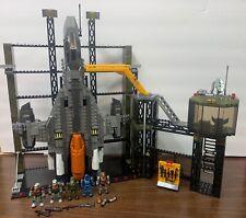 Mega Bloks Halo UNSC Countdown Sabre with Gantry Set 97017 99% Complete Obo