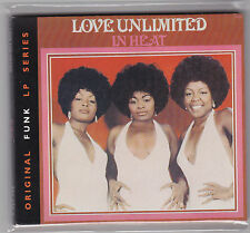 Love Unlimited ‎In Heat ( Barry White ) Album, Reissue, Remastered, Digipak CD