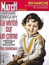 PARIS MATCH N°3553 22 JUIN 2017 AFFAIRE GREGORY_NOUVEAUX DEPUTES_MARIEES D FORCE