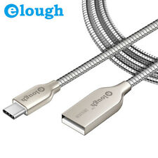 Elough Type c cable | Indestructible Metal Braided Charge & Sync Cable