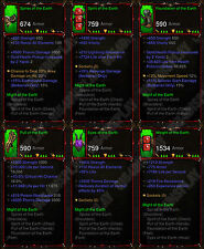 Diablo 3 RoS XBOX ONE [SOFTCORE] Full Legit Primal Might of the Earth Barb Set
