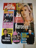 Affiche ici Paris 2008 n°3301 Laurence Ferrari, Renaud et Romane, Chr. Clavier +