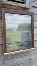 Vintage Sash Antique Wood Window Frame Pinterest One Pane Picture Frame 27X23