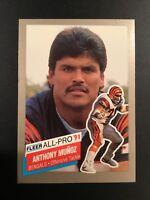 1991 Fleer All Pro #25 ANTHONY MUNOZ Cincinnati Bengals