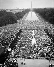 New 8x10 Photo: March on Washington for Jobs and Freedom, Martin Luther King