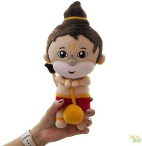 """RELI FUN Baby Hanuman Hindu Plush Religious Toy / Doll for Kids and Adults (10"""")"""