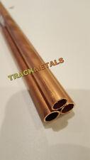 "Copper Tube  4.0 mm o/d x 0.5"" x  1 metre  Long x 1off"