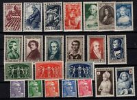 PP135472/ FRANCE – YEARS 1949 - 1951 MINT MNH SEMI MODERN LOT – CV 120 $