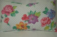"Roses, Hibiscus Lumbar Decorative Accent Throw Pillow Cover 12""x20"""