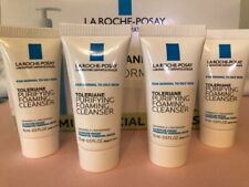 4 New La Roche-Posay Toleriane Foaming Cleanser 0.5oz sample size