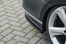 Difusor trasero partes laterales de ABS VW Passat 3g b8 r-line con Abe