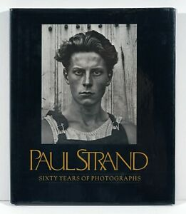 """""""Paul Strand • Sixty Years of Photographs,"""" 1976, hardcover w/dust jacket"""