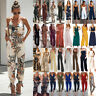 Women Ladies Clubwear Sleeveless Playsuit Bodycon Party Jumpsuit Romper Trousers