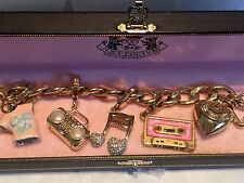 JUICY COUTURE MUSIC THEME CHARM BRACELET  🎶