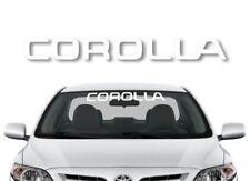"30"" COROLLA Windshield Window Banner Vinyl Decal 2014 2015 E12 S Sticker"