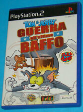 Tom & Jerry in Guerra all'Ultimo Baffo - Sony Playstation 2 PS2 - PAL