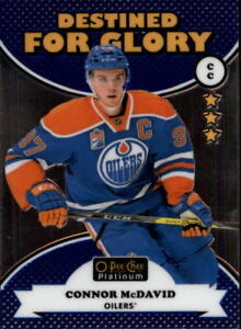 2017-18 O-Pee-Chee Platinum Hockey Destined For Glory Singles (Pick Your Cards)
