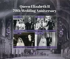 Nevis 2017 MNH Queen Elizabeth II 70th Platinum Wedding 4v M/S Royalty Stamps