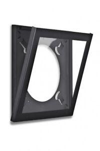 """Easy Open Frame Album Art Display Frame for LP 12"""" Record Cover Sleeve Black"""
